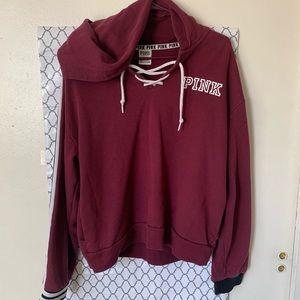 Burgundy PINK Sweatshirt